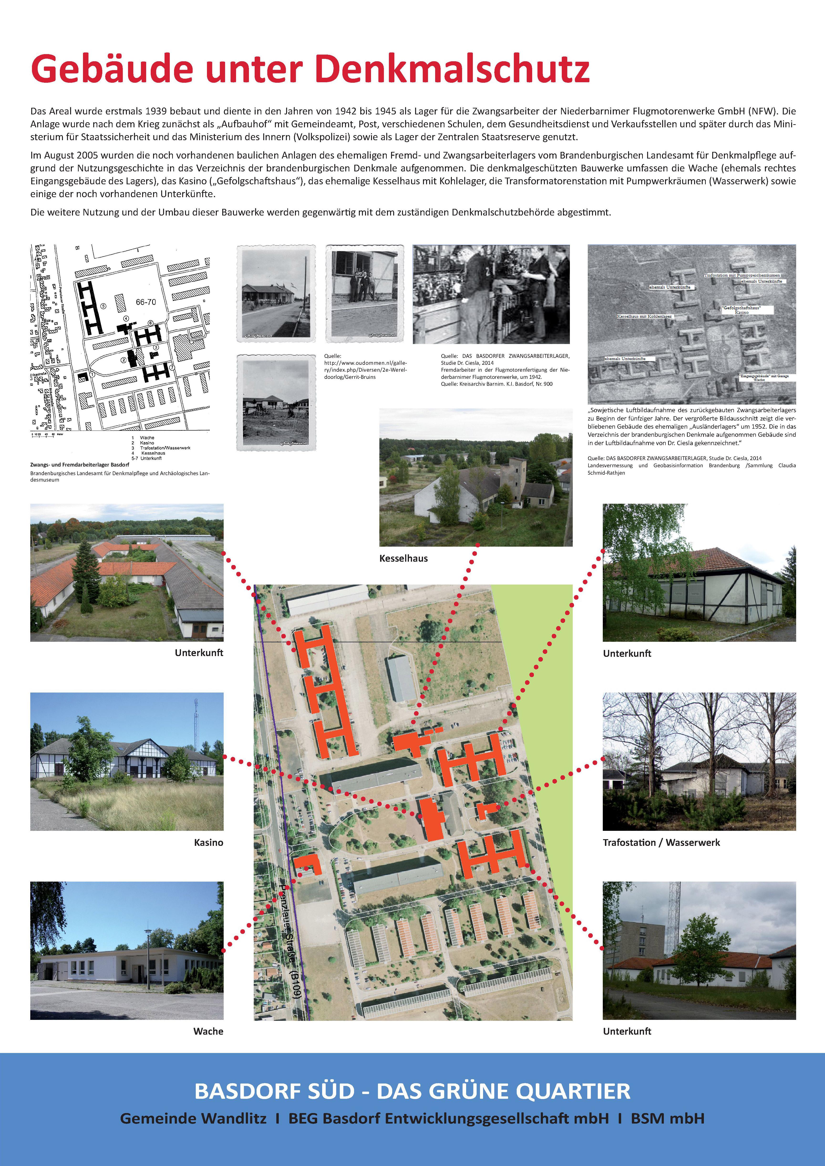 Gebäude unter Denkmalschutz